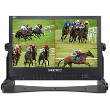 Seetec Atem156 15.6 inch monitor met 4x HDMI in/uit