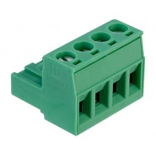 CS 4P Euroblock connector 2.5mm2 groen 12A