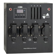 Showtec TED Pack LC - 4-Channel Dimmer Pack with local Control - 50447