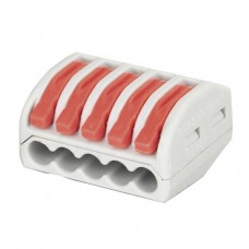 Showgear Cable Terminal 5 way - Grey / Red - 94020
