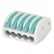 Showgear Cable Terminal 5 way - Green / Grey - 94021