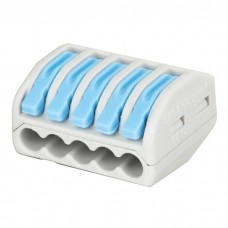 Showgear Cable Terminal 5 way - Blue / Grey - 94022