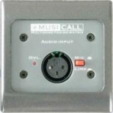 Dateq Musicall MRA1-GG Wand module Mono audio input Mic/ line Grijs