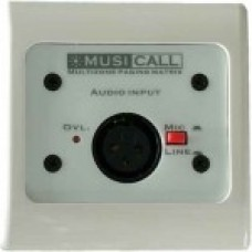 Dateq Musicall MRA1-WW Wand module Mono audio input Mic/ line Wit