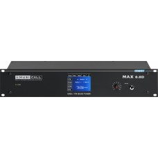 Dateq Musicall MAX 8.8D Multizone omroep / muziek matrix systeem + DAB+/FM/WEB + TFT 8x stereo in 8x stereo uit