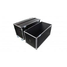 Prodjuser Flexi Case 6m2 Flightcase voor 6x 1x1 podium + poten