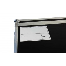Prodjuser Case label set van 50 labels 210mm x 145mm zilver