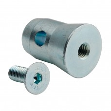 Contest 1/2MANCH-M10  - Conical half-sleeve with M10 screw for 50mm tubes