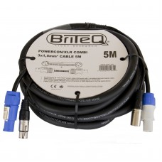 Briteq POWERCON/XLR COMBI 3x1,5mm² CABLE  5M