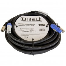 Briteq POWERCON/XLR COMBI 3x1,5mm² CABLE  10M