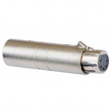 JB Systems Adapter XLRmale 3P / XLRfem 5P