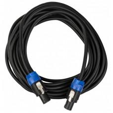 JB Systems 2-0510 - Voorgemonteerde luidsprekerkabel, 2x Pro Lock, 10m.
