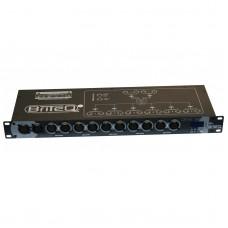 Briteq DMS-26 DMX merger / splitter / Booster 3 en 5 pin