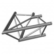 Contestage AG29-020  - Trio hoekverbinding - 290mm - 60° - 2 richtingen - Montagekit inbegrepen