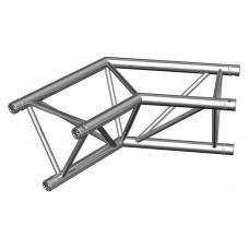 Contestage AG29-022  - Trio hoekverbinding - 290mm - 120° - 2 richtingen - Montagekit inbegrepen
