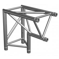 Contestage AG29-025  - Trio hoekverbinding - 290mm - 90° - 2 richtingen - Binnenste hoekpunt - Montagekit inbegrepen