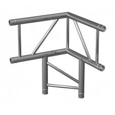 Contestage AGDUO-07  - Hoekverbinding – 3 richtingen - 90° - verticaal - Montagekits inbegrepen
