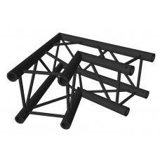 Contest AGQUA-01 blk  - Quatro angle - 80 cm 60° - 2 directions - Black finishing