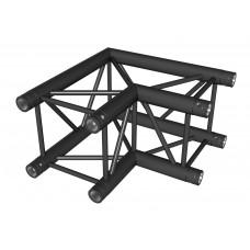 Contest AGQUA-02 blk  - Quatro angle - 80 cm 60° - 2 directions - Black finishing