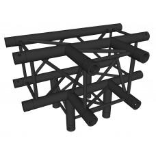 Contest AGQUA-10 blk  - Quatro side piece - 90° - 4 directions - Black finishing