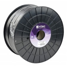 Hilec CAT6cable  - CAT6 flexible cable 26AWG roll of 100m Black