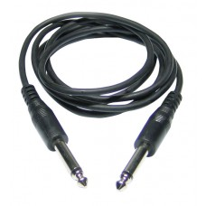 Audiophony CL-05/1.5  - 6 mm Jack male / Jack male mono line cable 1.5 m