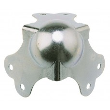 Hilec COIN3PGM  - 3-leg metal ball corner - Large