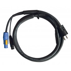 Contest CPCDMXIN-3  - Hybrid powerCON-PC16A / XLR 3G1.5mm² cable - 3m