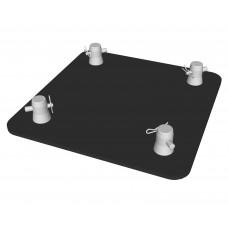 Contest EMQUA-B1 blk  - Quatro baseplate - With connectors - Black finishing