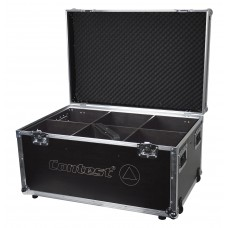 Contest FLY-irLED64x6  - Flight case for 6 PAR64 projectors