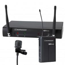 Audiophony Pack GOLava  - 1 GO Mono receiver - 1 GO Body bodypack transmitter - 1 GO Lava Lavalier microphone