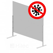 HILEC HEALTH-SCREEN SET 100x75 FREE STAND