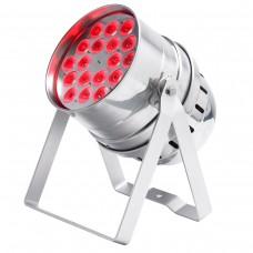 Contest irLED64-18x3TCss  - 18x3W Tricolor LEDs PAR64 projector
