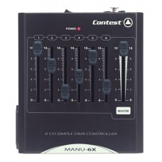Contest MANU-6X  - DMX command panel