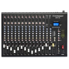 Audiophony MPX16  - 16 channels Mixer with Compressor, Effects and USB/ SD/BT Player