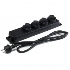 Hilec MULTIP4E  - Multisocket 4 Europe sockets - IP44