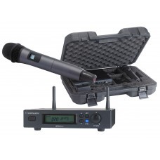 Audiophony PACK-UHF410-Hand  - Set including a UHF True Diversity receiver and a handheld microphone in its transport case