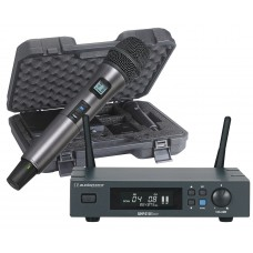 Audiophony PACK-UHF410-Hand-F5  - UHF receiver pack with hand microphone and case - 500MHz