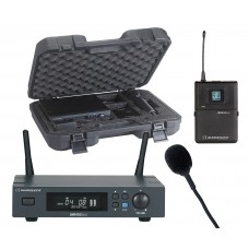 Audiophony PACK-UHF410-Lava-F5  - Set including a UHF True Diversity receiver + a bodypack and a Lavalier microphone in their transport case - 500MHz