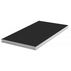 Contest PLTS-2x1  - 2m x 1m antislip 750Kg/m² * platform - black