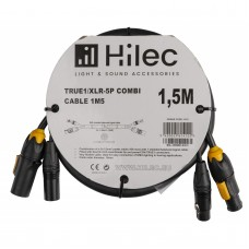 HILEC TRUE1/XLR-5P COMBI CABLE 1,5M