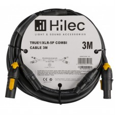 HILEC TRUE1/XLR-5P COMBI CABLE 3M