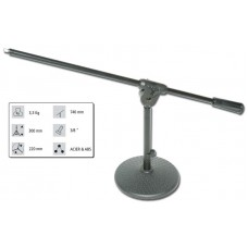 Audiophony TMIC-20  - Table top mic stand with a heavy table table base     H 30 cm