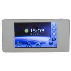 Audiophony WALLAMPpad  - 2x20W wall-mounted amplifier with SD/BT/AUX/DLNA/Airplay & App with touch screen