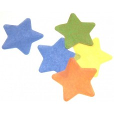 Oh!FX Confetti STARS Light Blue